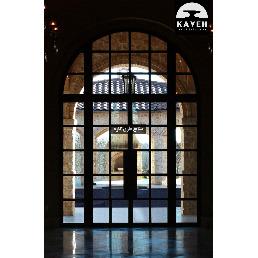 درب فلزی مدرن 24156