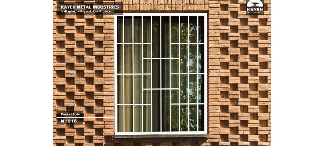 حفاظ پنجره و بالکن مدرن کد M1016