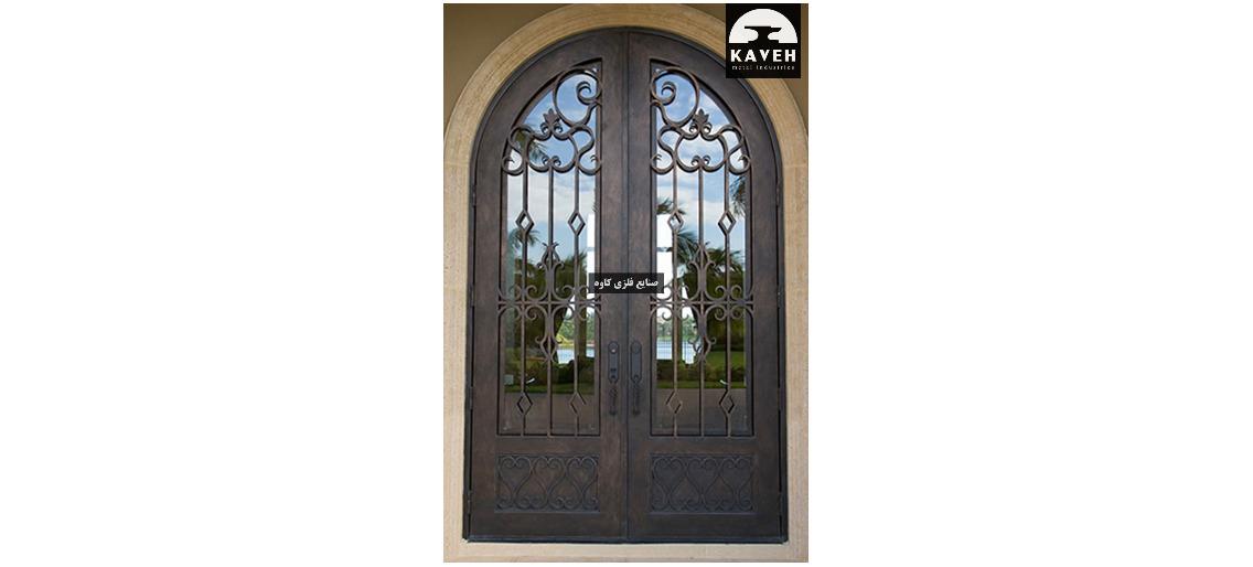 درب فلزی لوکس 54461