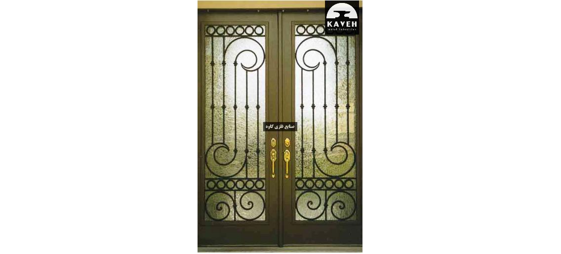 درب فلزی لوکس 54645