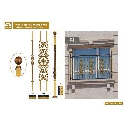 حفاظ پنجره و بالکن فرفورژه کد F1025