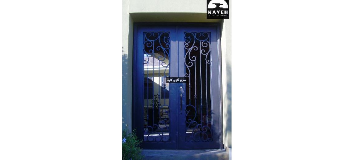 درب فلزی لوکس 54536
