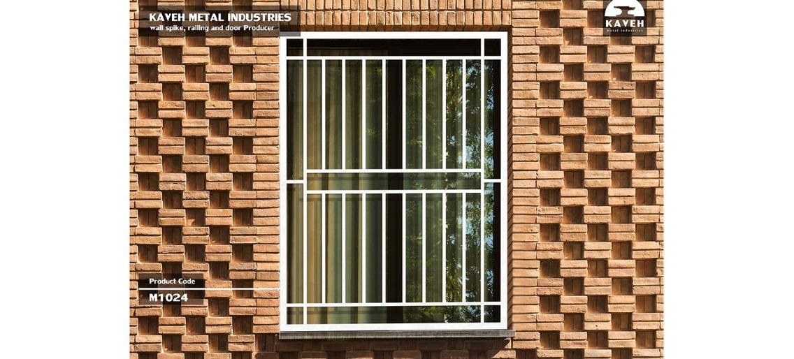 حفاظ پنجره و بالکن مدرن کد M1024