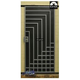 درب فلزی مدرن مدل 52101