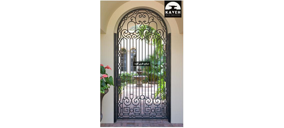 درب فلزی لوکس 54515