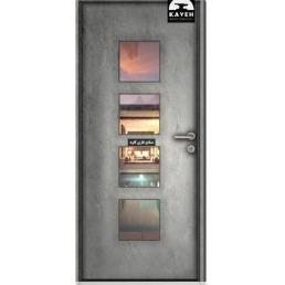 درب فلزی مدرن 52220