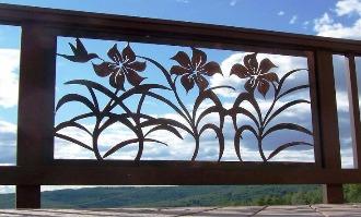 حفاظ پنجره و بالکن CNC