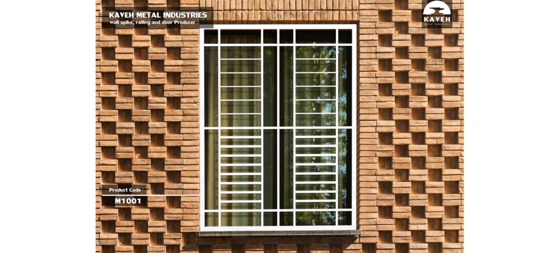 حفاظ پنجره و بالکن مدرن کد M1001