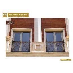 حفاظ پنجره و بالکن فرفورژه کد F1035