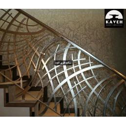 نرده راه پله CNC مدل 338